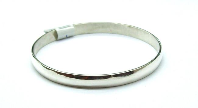6bedf7111373 Pulsera esclava maciza 8mm de plata 925 - IT8 - PFP-101 - Cadenas ...