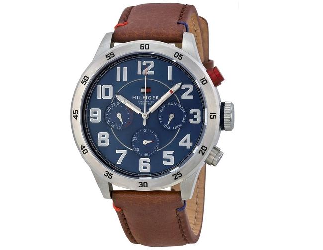 3c2d1ff6708 Reloj Tommy Hilfiger Hombre Cuero 1791066 - Para Hombres (Relojes ...