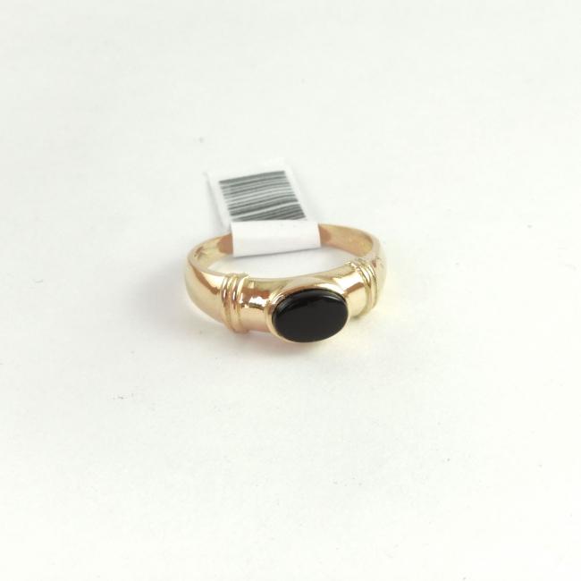 nuevo concepto 8e3de 1aab9 Anillo Oro 18k 3gr Con piedra oval negra - Anillos - Oro ...