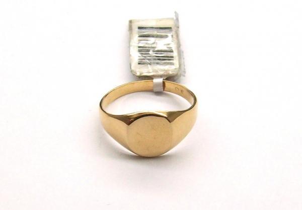f585d8933511 Anillo de oro 18k. sello oval - Anillos - Oro 18Ktes. - Productos ...