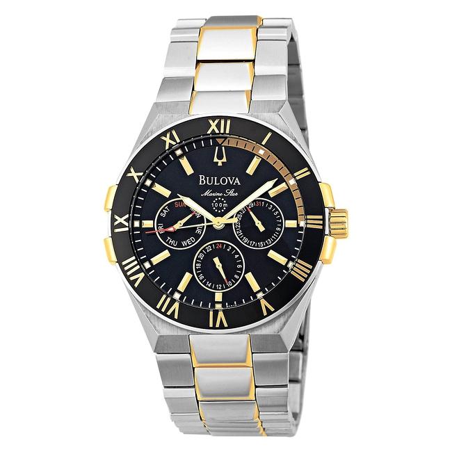 68323636f081 Reloj BULOVA 98C004 Marine Star. Hombre - Alianzas de Plata 925 ...