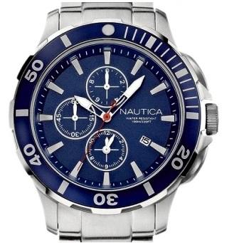 e7e7073d5842 Reloj Nautica Hombre Acero A20508G Crono Azul - Relojes en promoción ...