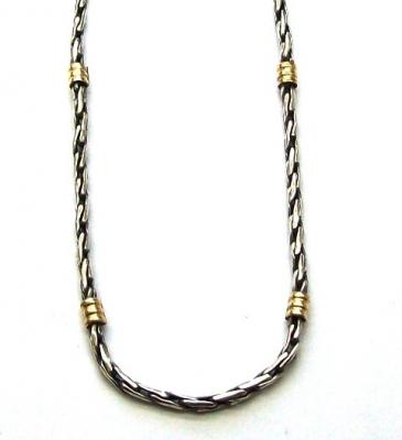 0ef65c671fbb Cadena de plata y oro 18k. Tourbillón H. N°1 - Collares   Cadenas ...