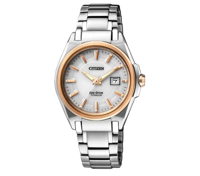 2d4a9be7c31c Reloj CITIZEN EW1884-55A dama eco-drive SUPER TITANIUM (17-02 ...
