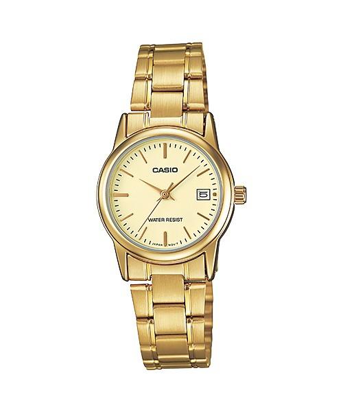 5d4f0f906576 Reloj Casio Mujer Clásico LTP-V002G-9A - Relojes en promoción ...