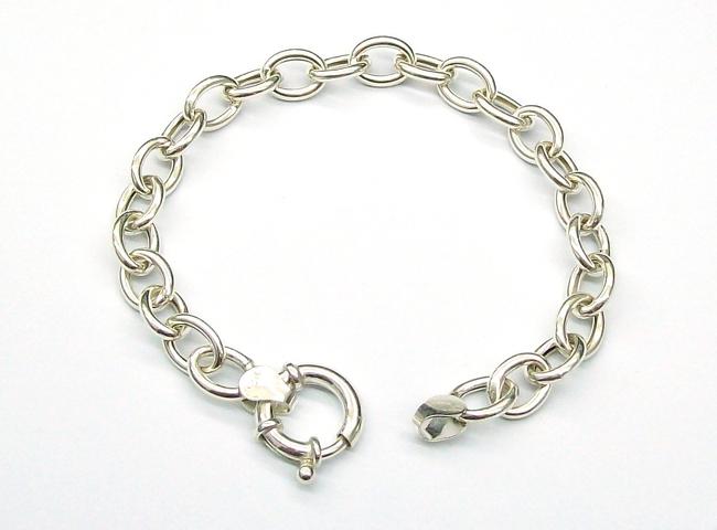 Pulsera de plata 925 tif con cierre marinero cadenas for Productos para eliminar pececillos de plata