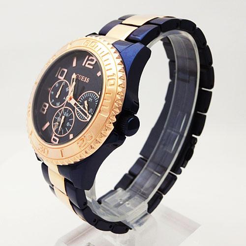 Y W0231l6 Mujer Mujeresrelojes Guess Reloj Azul Rosé Para 8Nn0mw